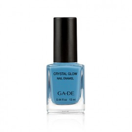 Crystal Glow Nail Enamel No.490 Blue Angel