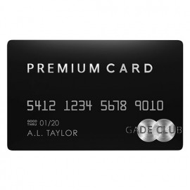 Gade Club Premium Member Card
