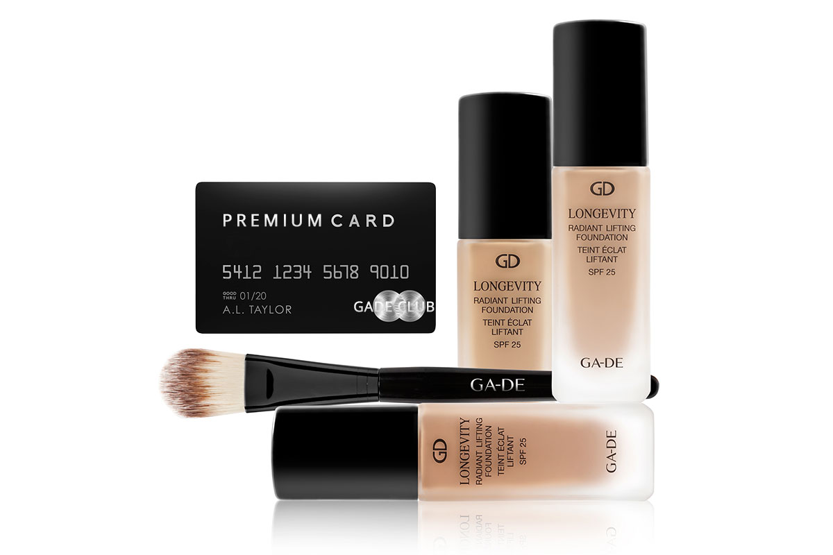 GADE Cosmetics Club Premium Membership